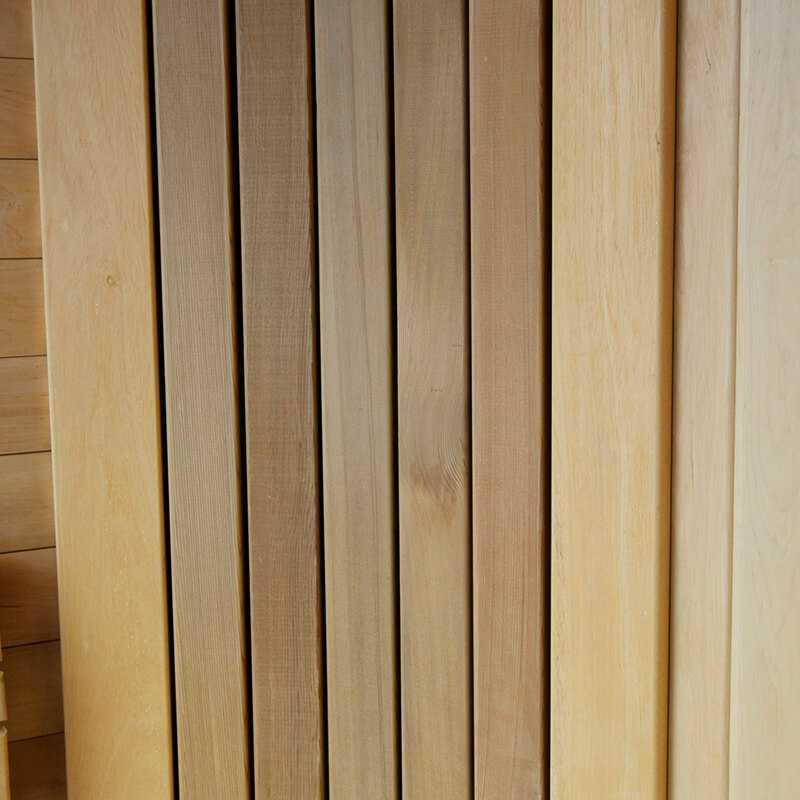Вагонка из кедра канадского для бани
