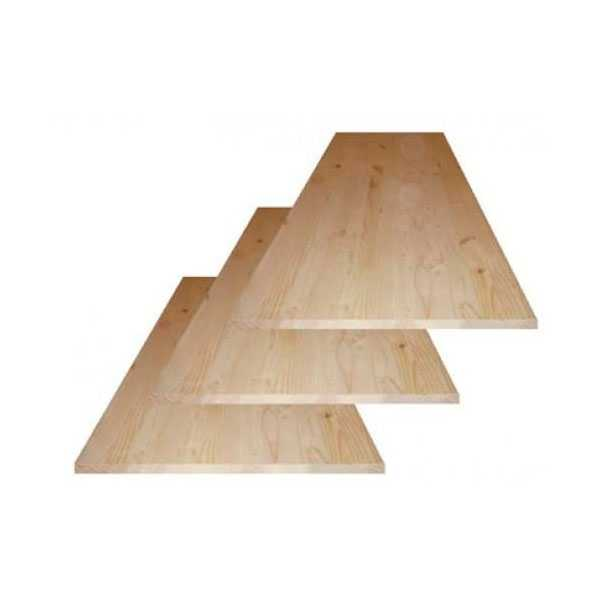 Мебельный щит из лиственницы для лестниц