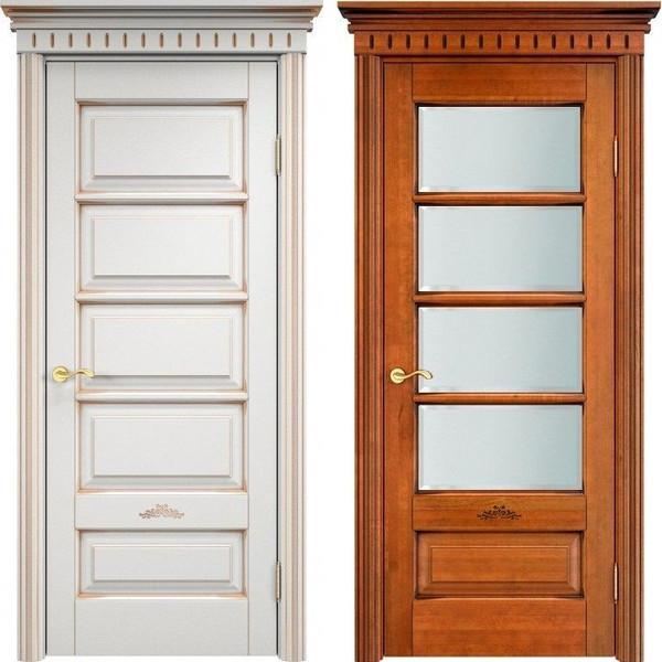 Двери из массива ольхи